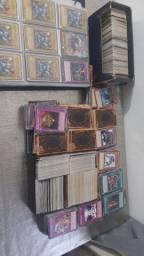 Coleção yugioh mais de 3000 cards