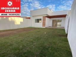 JES 001. Casa nova na Serra de 66M² em Jacaraipe 2 quartos com suíte.