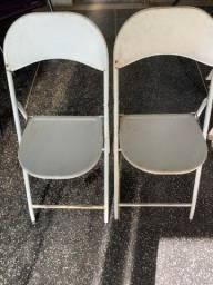 2 Cadeira de Ferro R$ 80,00