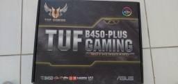 Placa mãe Asus AM4 TUF B450 Plus Gaming