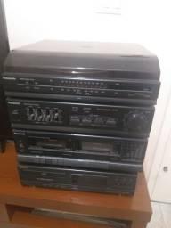 Aparelho de som e cd
