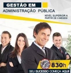 Curso Superior em Gestão de Administração Pública - 80