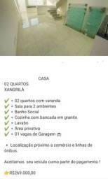 Casa - Raridade c Varanda região Pampulha bairro xangri-lá de 310 por 268900
