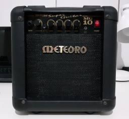 Amplificador Meteoro Super Guitar MG 10 Combo Transistor 10W preto 110V/220V