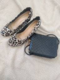 Sapato Feminino Oncinha