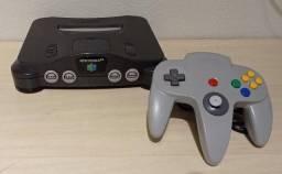 Título do anúncio: Nintendo 64 com 1 Controle