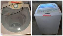Duas ótimas máquinas de lavar funcionando!