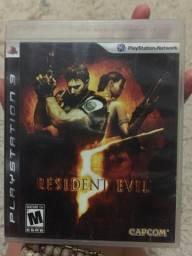 jogos ps3 - resident evil e infamous 2