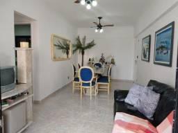 Belo apartamento, 3 dormitórios, 1 quadra da praia e vista mar, Tupi - Praia Grande/SP
