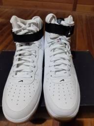 Nike Air Force 1 High'07 NBA tamanho 43 branco