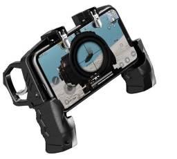 Controle para celular 2 gatilhos joystick