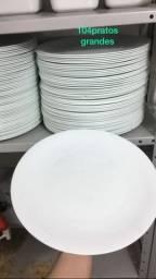 Pratos de alto padrão pra self service Restaurante