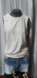 Título do anúncio: Blusa em Malha Cinza Rampage -Tam. M