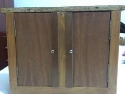 Jogo de quarto com madeira verdadeira