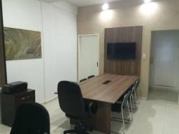 Mesa de reuniões e painel (sem a tv e as cadeiras)