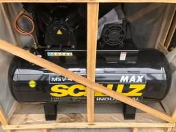 Compressor De Ar Msv 40 Max - 40 Pes - 353 Litros - 175Libras - Schulz