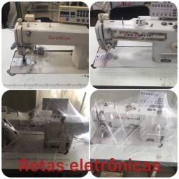 Desapegando de máquinas de costura industrial