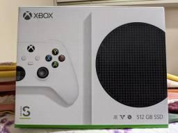 Console XBOX Series S lacrado na caixa