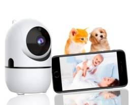 Babá Eletrônica Câmera Sem Fio Visão Noturna