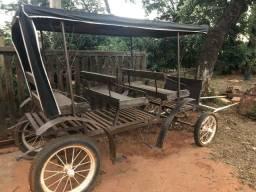 Trole / charrete / carruagem 4 rodas