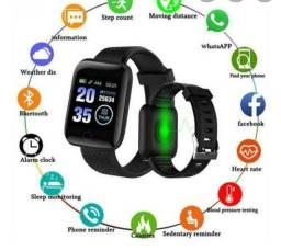 Relógio smartwatch D13 preto