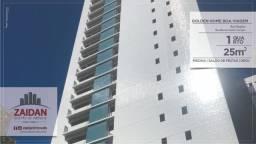 Apartamento com 25m², de 1 quarto,  no edifício Golden Home Boa Viagem.
