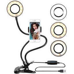 Iluminador Para Celular (ring light de mesa com suporte)