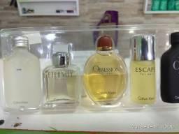 Kit 5 Miniaturas Calvin Klein Perfumes Importados Originais