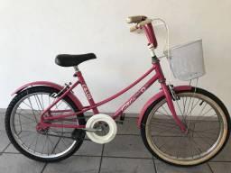 Bicicleta Ceci Rosa aro 20 usada