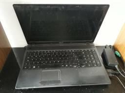 Notebook Acer , 2g de RAM e 500HD