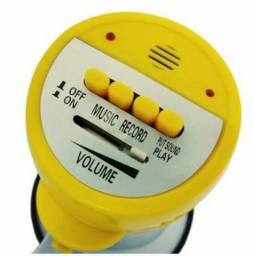 Megafone sirene e altofalante bivolt bateria recarregável - entrega grátis/*-