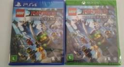 Novo Ps4 e one Lego Ninjago