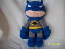 Amigurumi Batman, estilo chibi!