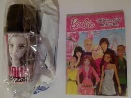 Kit Barbie - Garrafa + Livrinhos