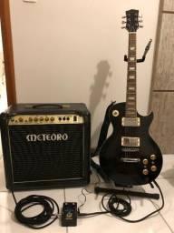 Set Guitarra Amplificador