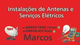 Antenas e elétrica