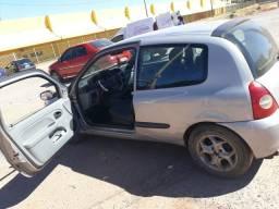 Renault Clio 1.0 16 v duas portas vidro , Flex 2007/2008 - 2007