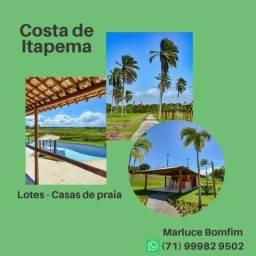Lotes Costa de Itapema - Saubara - Praia Privativa