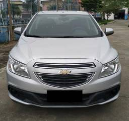 Chevrolet Onix Prata - 2014