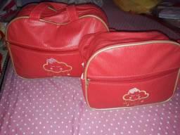 Duas bolsas nunca usadas