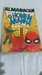 Título do anúncio: Almanaque do homem aranha ebal 1973