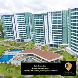 Alugo Apartamento na Reserva do Paiva, 127 m², 04 suítes