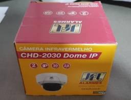 Câmera Dome IP Poe 1080P Lente 2,8mm Infra 30M - Acesso app via Cloud - CHD-2030IP