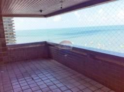Apartamento com 314m², andar alto. Pé na areia