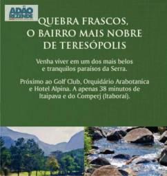 Terreno à venda, 852 m² por R$ 391.400,00 - Quebra Frascos - Teresópolis/RJ