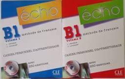 Echo B1 - Cahier Personnel D´apprentissage - Volumes 1 e 2 com CDs - Francês
