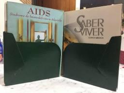Enciclopédia Saber Viver 6 volume Editora Biologia Sancle Santos Divido no cartão