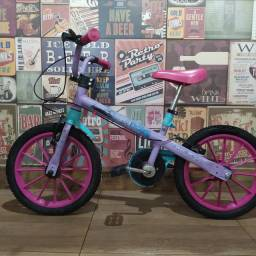 Bicicleta infantil da Frozen - aro 20 (usada)