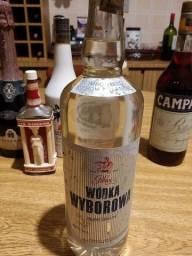 70s IMPORTADA POLÔNIA Wodka Wyborowa Polmos