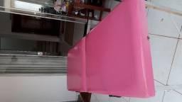 Maca portátil rosa (usada em bom estado de conservação)